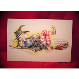 Hex Krooze Kontrol Postcard by Sabrina the Ink Witch