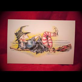 Krooze Kontrol Postcard by Sabrina the Ink Witch