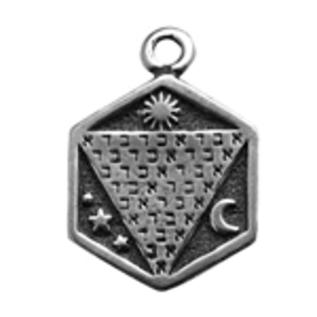 Hex Abracadabra Talisman Pendant
