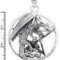 Hex Dragon Hanging on Pentacle