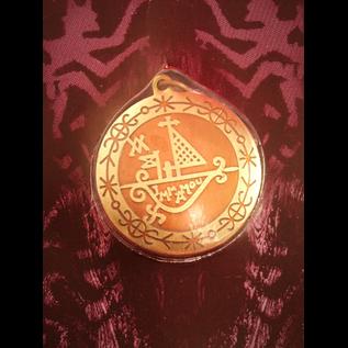 Protection on Journeys Voodoo Charm Pendant