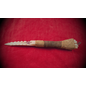 Deer Bone Wand Wrapped in Leather