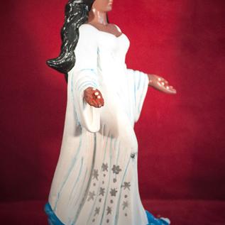 Hex Yemaya Dark Skin Statue