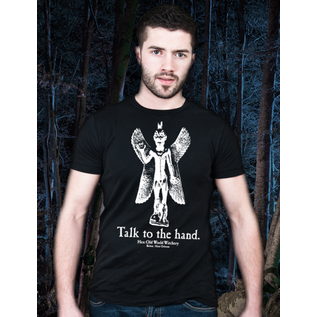 Talk To The Hand T-Shirt (Lg)