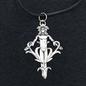 Hex Mandrake Charm Pendant