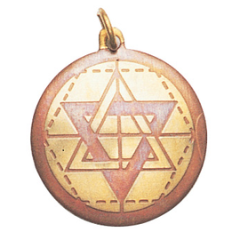 Star of Solomon Charm Pendant for Wisdom, Intuition, & Understanding