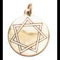Hex Heptagram, Mystic Star Charm Pendant for Harmony in Love & Friendship