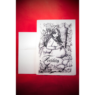Greeting Card - Fertility Spell by Sabrina the Ink Witch