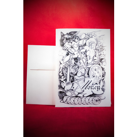 Greeting Card - Money Spell by Sabrina The Ink Witch