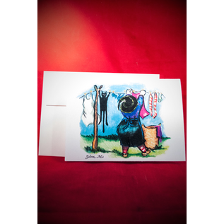 Greeting Card - Witchwash Daily by Sabrina the Ink Witch