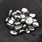 Hex Small Tumbled Hematite