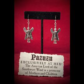 Hex Pazuzu Earrings