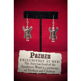 Pazuzu Earrings
