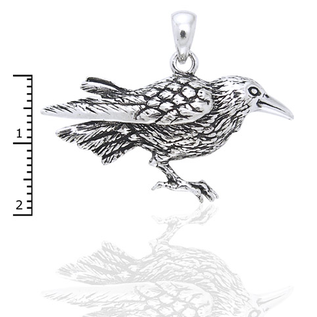Hex Raven Pendant
