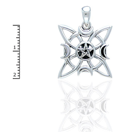 Elemental Star with Pentacle and Moonstone