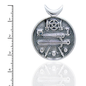 Pentacle and Sword Medallion