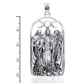 Triple Goddess Pendant