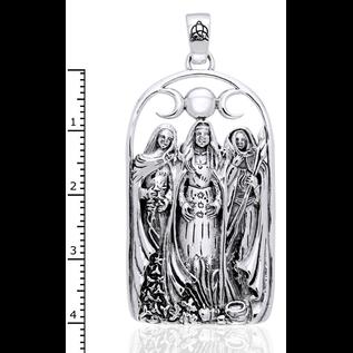 Hex Triple Goddess Pendant