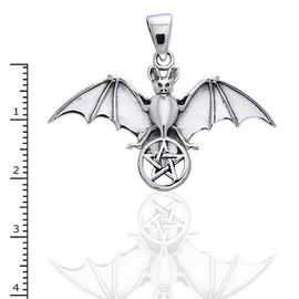 Flying Bat with Pentacle
