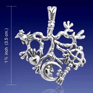 Cimaruta Pendant with Equal Arm Cross