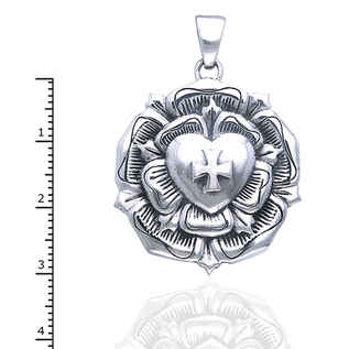 The Rose Cross pendant