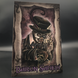 Baron Samedi Postcard