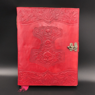 Hex Large Mjolnir Journal in Red
