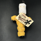 Hex Old New Orleans Voodoo Doll in Yellow