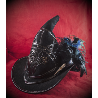 Broom Rider Witching Hour in Black Suede