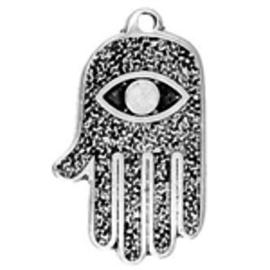 All Seeing Eye Hand Talisman Pendant