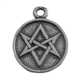 Magic Hexagram Talisman Pendant