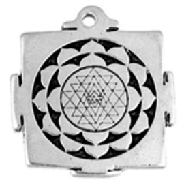 Shri Yantra Talisman Pendant