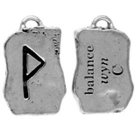 Wyn Rune Pendant - Balance