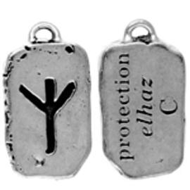 Elhaz Rune Pendant - Protection
