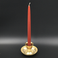 """Hex 12"""" Taper Candle - Brown"""
