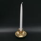 """Hex 12"""" Taper Candle - White"""