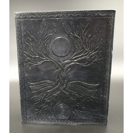 Small Moon Tree Journal in Black