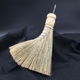 Scheumack Broom Company Turkey Tail Altar Broom (natural)