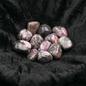 Hex Tumbled Rhodonite