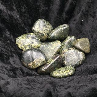 Azure Green Tumbled Jade