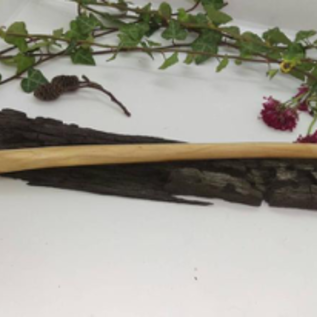 Hex Natural Hawthorn Wood Wand