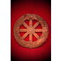 Raven and Stephanie Grimassi Wheel of the Year Wall Plaque in Wood Finish