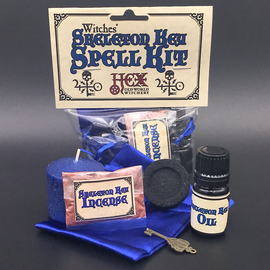 Salem Witches' Skeleton Key Spell Kit