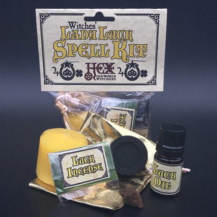 Hex Salem Witches' Lady Luck Spell Kit