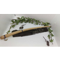 Grande Willow Wood Wand With Lapis Inlay`