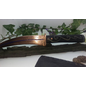 Copper Curved Bladed Athame With a Inlayed Bog Oak Handle