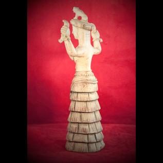 Serpent Goddess Statue
