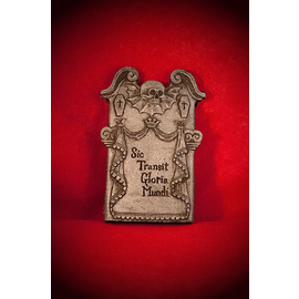 Tombstone Magnet in Stone Finish