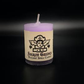 Dark Candles Hex Votive Candle - Spirit Guides