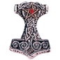 Thor's Hammer Pendant: Strength, Courage & Success
